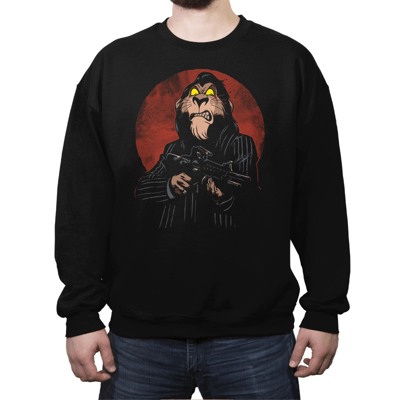 Goodnight Bad Guy! - Crew Neck Sweatshirt - Crew Neck Sweatshirt - RIPT Apparel