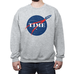 T.I.M.E. - Crew Neck Sweatshirt - Crew Neck Sweatshirt - RIPT Apparel