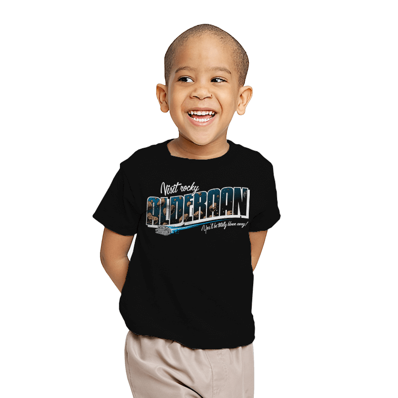 Visit Alderaan - Youth - T-Shirts - RIPT Apparel