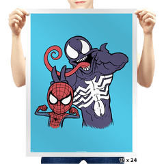 Peter and Eddie - Prints - Posters - RIPT Apparel