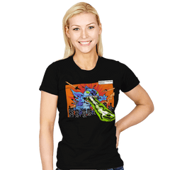 Kaiju-626 - Womens - T-Shirts - RIPT Apparel