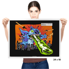 Kaiju-626 - Prints - Posters - RIPT Apparel