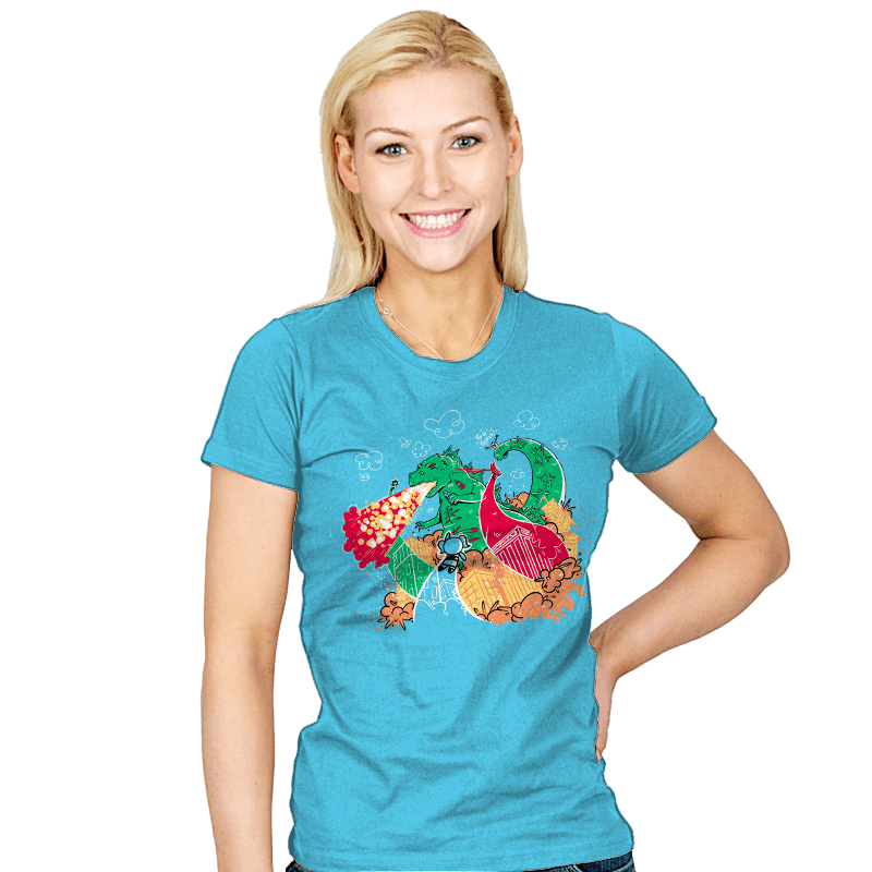 A Kaiju In Townsville - Womens - T-Shirts - RIPT Apparel