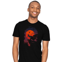 Dino Park Sunset - Mens - T-Shirts - RIPT Apparel