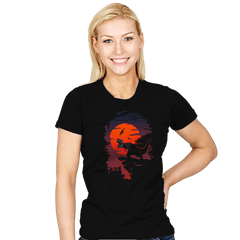 Dino Park Sunset - Womens - T-Shirts - RIPT Apparel