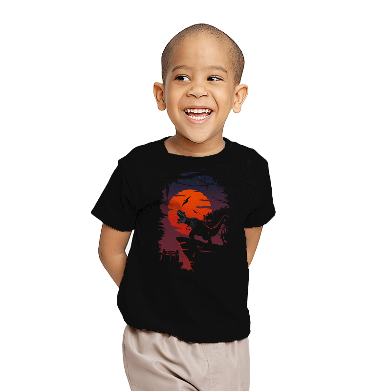 Dino Park Sunset - Youth - T-Shirts - RIPT Apparel