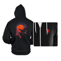 Dino Park Sunset - Hoodies - Hoodies - RIPT Apparel