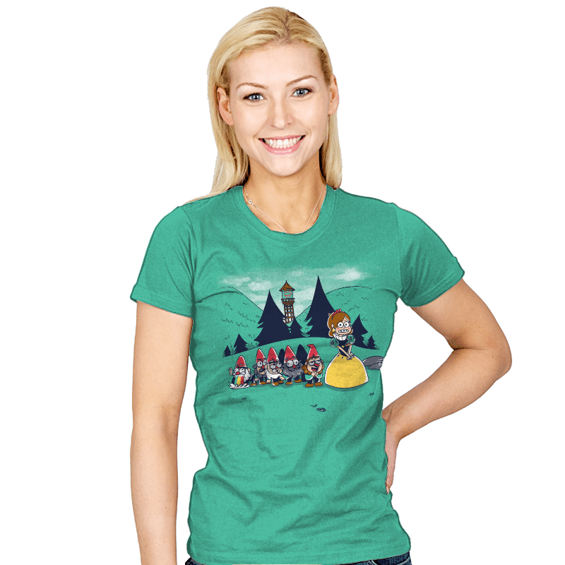 Mabel and the Seven Gnomes - Womens - T-Shirts - RIPT Apparel
