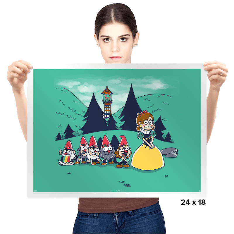 Mabel and the Seven Gnomes - Prints - Posters - RIPT Apparel
