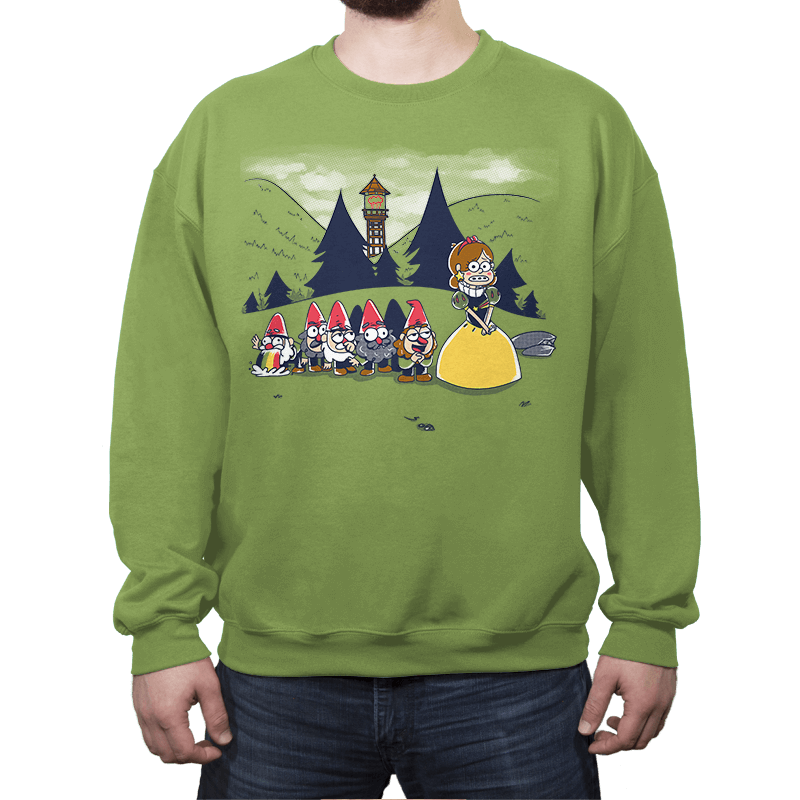 Mabel and the Seven Gnomes - Crew Neck Sweatshirt - Crew Neck Sweatshirt - RIPT Apparel