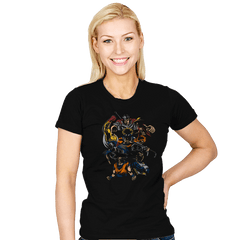 Invincible Anime Team - Womens - T-Shirts - RIPT Apparel