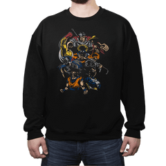 Invincible Anime Team - Crew Neck Sweatshirt - Crew Neck Sweatshirt - RIPT Apparel