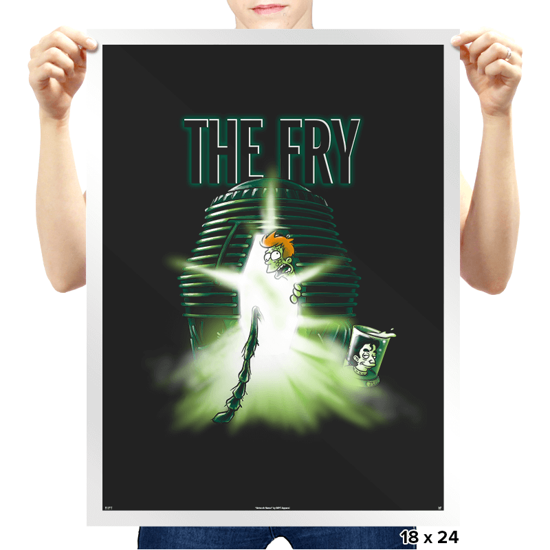 The Fry - Prints - Posters - RIPT Apparel