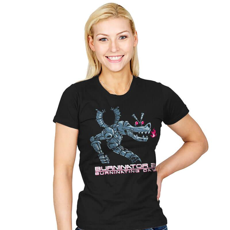 Burninator 2 - Womens - T-Shirts - RIPT Apparel