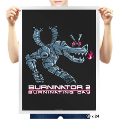 Burninator 2 - Prints - Posters - RIPT Apparel