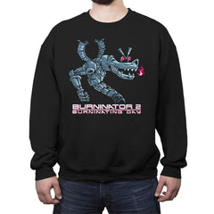 Burninator 2 - Crew Neck Sweatshirt - Crew Neck Sweatshirt - RIPT Apparel