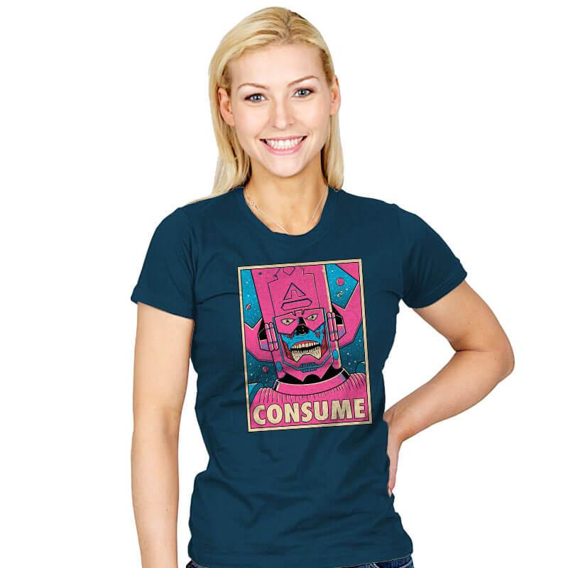 CONSUME - Womens - T-Shirts - RIPT Apparel