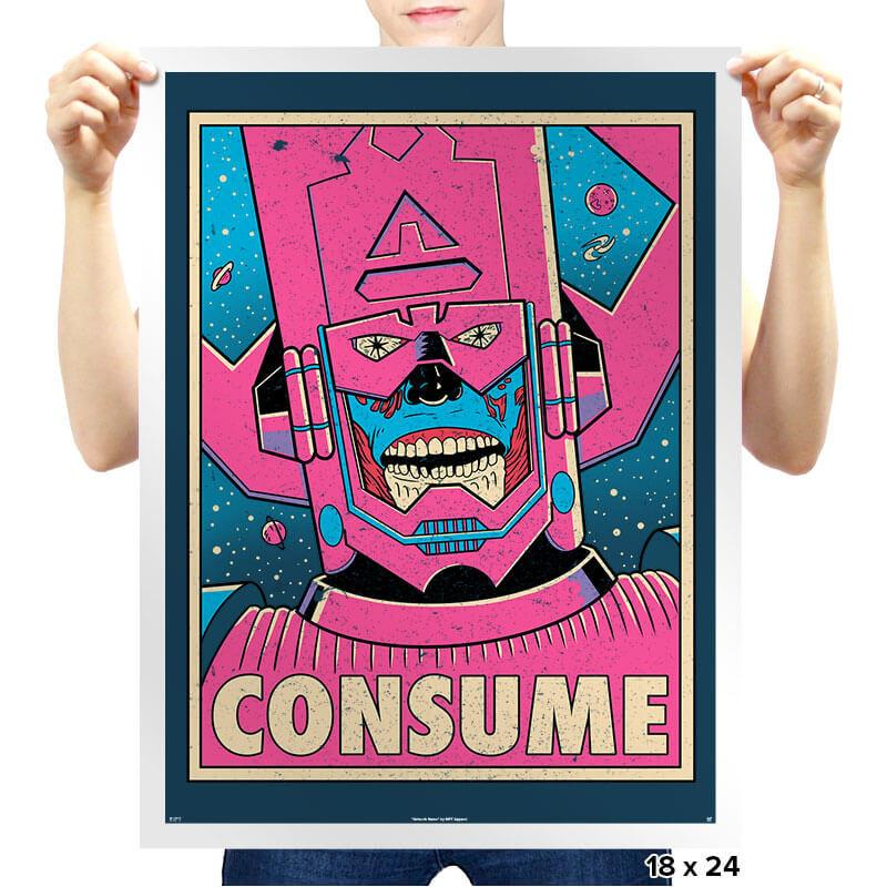 CONSUME Exclusive - Prints - Posters - RIPT Apparel