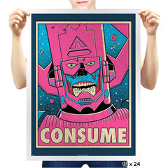 CONSUME - Prints - Posters - RIPT Apparel