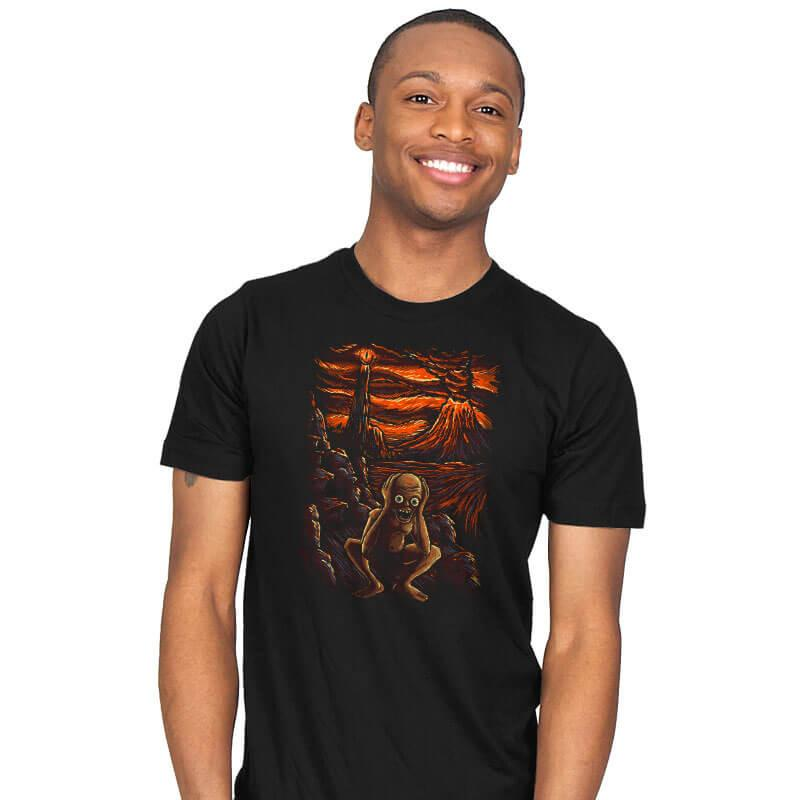 The Scream in Mordor - Mens - T-Shirts - RIPT Apparel