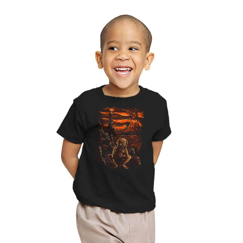 The Scream in Mordor - Youth - T-Shirts - RIPT Apparel
