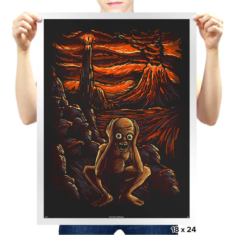 The Scream in Mordor - Prints - Posters - RIPT Apparel
