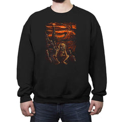 The Scream in Mordor - Crew Neck Sweatshirt - Crew Neck Sweatshirt - RIPT Apparel
