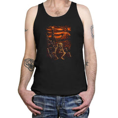 The Scream in Mordor - Tanktop - Tanktop - RIPT Apparel