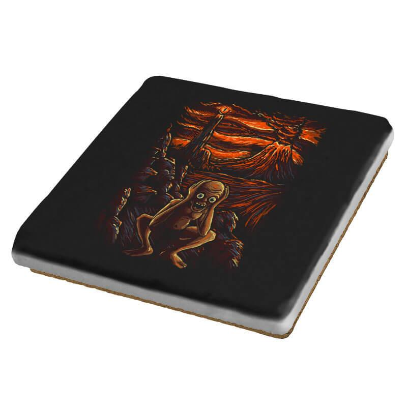 The Scream in Mordor - Coasters - Coasters - RIPT Apparel
