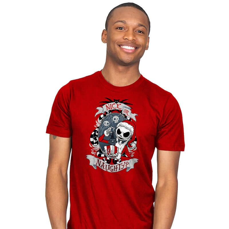 Naughty - Mens - T-Shirts - RIPT Apparel