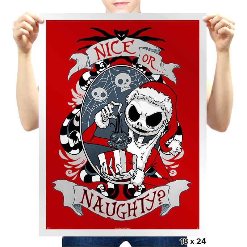 Naughty - Prints - Posters - RIPT Apparel