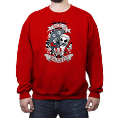 Naughty - Crew Neck Sweatshirt - Crew Neck Sweatshirt - RIPT Apparel