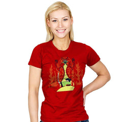 Samurai Princess - Womens - T-Shirts - RIPT Apparel