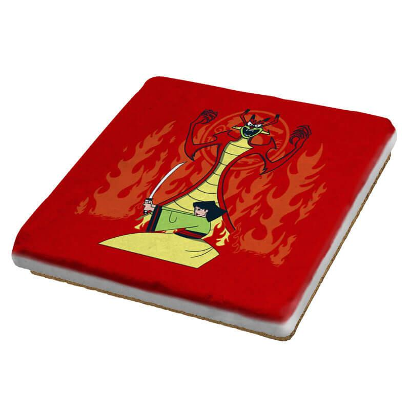 Samurai Princess - Coasters - Coasters - RIPT Apparel
