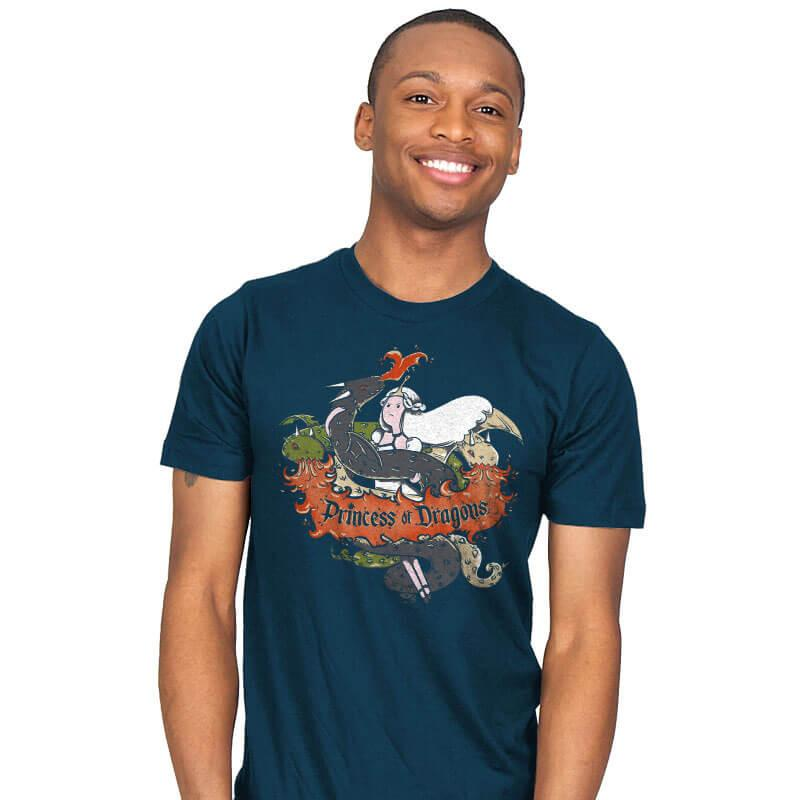 Princess of Dragons - Mens - T-Shirts - RIPT Apparel