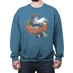 Princess of Dragons - Crew Neck Sweatshirt - Crew Neck Sweatshirt - RIPT Apparel