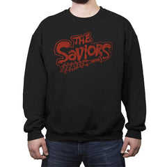 The Saviors - Crew Neck Sweatshirt - Crew Neck Sweatshirt - RIPT Apparel