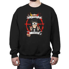 This Is Where I Thrash - Crew Neck Sweatshirt - Crew Neck Sweatshirt - RIPT Apparel