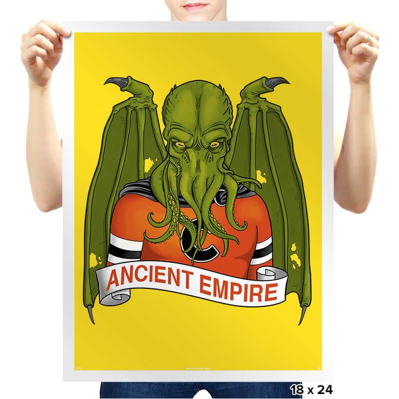 Ancient Empire - Prints - Posters - RIPT Apparel