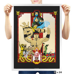 Enter Kombat - Prints - Posters - RIPT Apparel