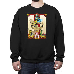 Enter Kombat - Crew Neck Sweatshirt - Crew Neck Sweatshirt - RIPT Apparel
