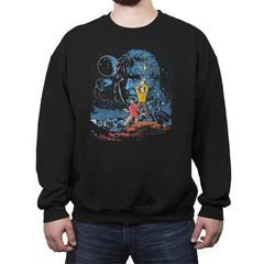 Trek Wars - Crew Neck Sweatshirt - Crew Neck Sweatshirt - RIPT Apparel