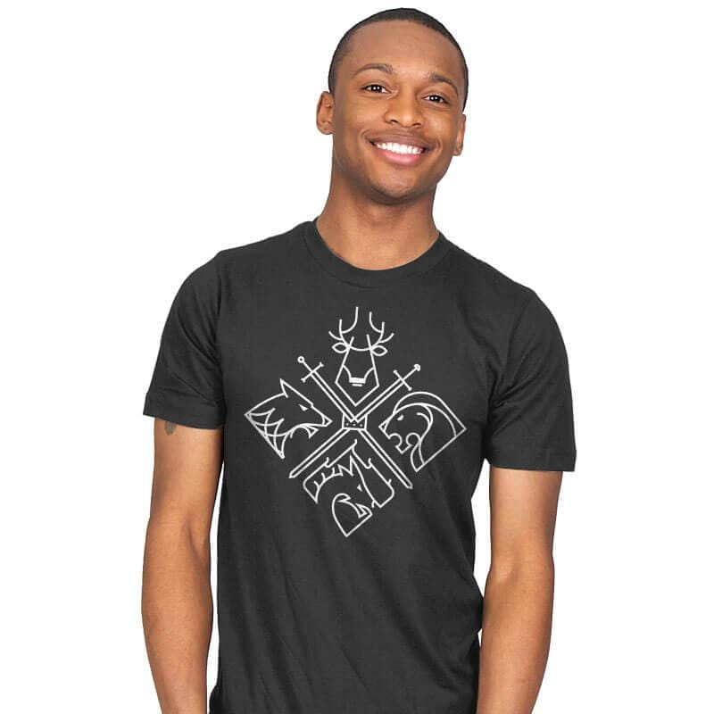 Minimal Thrones - Mens - T-Shirts - RIPT Apparel