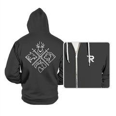 Minimal Thrones - Hoodies - Hoodies - RIPT Apparel