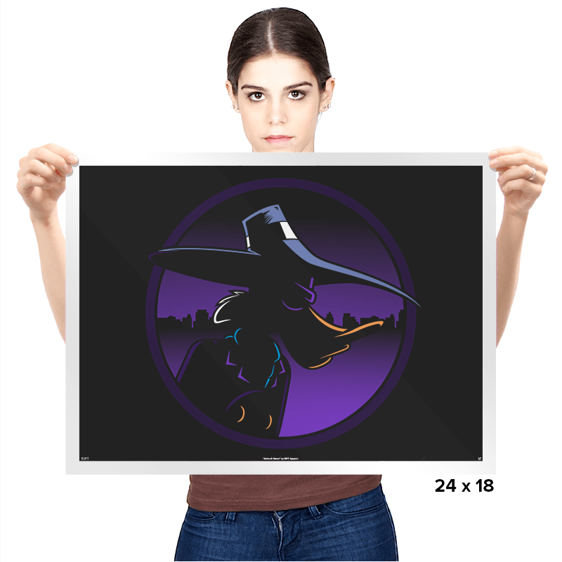 Terror That Flaps In The Night - Prints - Posters - RIPT Apparel