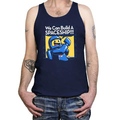 We Can Build A SPACESHIP!!! - Tanktop - Tanktop - RIPT Apparel