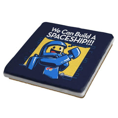 We Can Build A SPACESHIP!!! Exclusive - Coasters - Coasters - RIPT Apparel