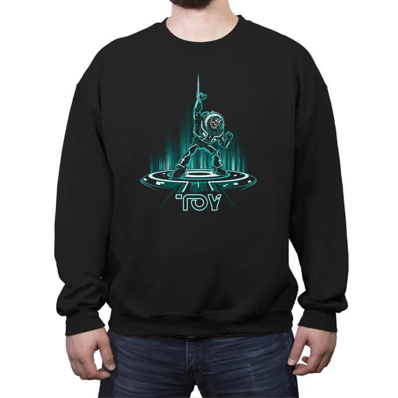 BUZZTRON - Crew Neck Sweatshirt - Crew Neck Sweatshirt - RIPT Apparel
