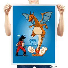 Not the Dragon You Are Looking for - Prints - Posters - RIPT Apparel