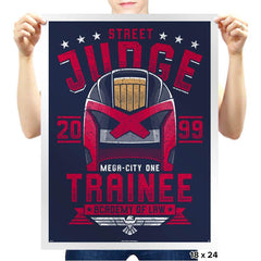 Street Judge Trainee - Prints - Posters - RIPT Apparel